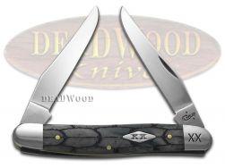 Case xx Muskrat Knife Tortoise Shell Gray Bone 1/500 Stainless Pocket Knives