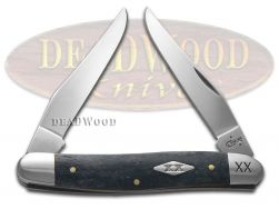 Case xx Muskrat Knife Smooth Gray Bone 1/500 Stainless Pocket Knives 06704