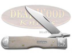 Case xx Cheetah Knife Scrolled Single Shot Natural Bone 1/200 Stainless Pocket