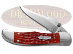 Case xx Kickstart Mid Folding Hunter Knife Red Bone CV Pocket Knives 07003