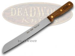 Case xx Household Cutlery Kitchen Bread Knife Walnut Wood Stainless 07318
