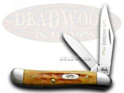Case xx Father Peanut Knife Harvest Orange Bone 1/500 Dad Stainless Pocket