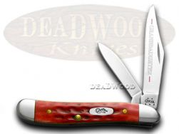 Case xx Red PW Granddaughter Peanut Pocket Knife 781GD Knives