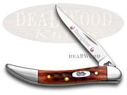 Case xx Daughter Toothpick Knife Red Bone 1/500 Stainless Pocket Knives 792 D
