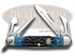 Case xx Boy Scouts Navy Blue Jr Scout Pocket Knife 8055 Knives