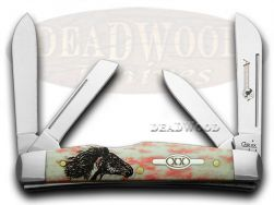 Case xx Congress Knife Wild Mustang Red Appaloosa Bone 1/100 Stainless Pocket