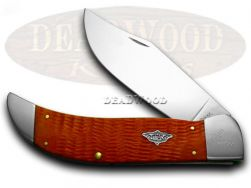 Case xx Clasp Knife Tangerine Bone 1/100 Stainless Pocket Knives 08568