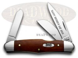 Case xx Father's Day Humpback Stockman Knife Chestnut Bone Stainless 08821