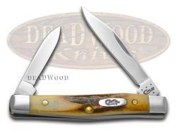 Case xx Small Pen Knife Genuine Sambar Stag Handle Stainless Pocket Knives 00088