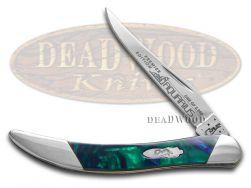 Case xx Toothpick Knife Slant Series Aquarius Corelon 1/2500 Stainless S910096AQ