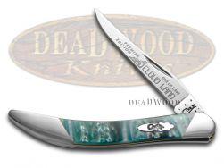 Case xx Toothpick Knife Slant Series Cloud Land Corelon 1/2500 Pocket S910096CL