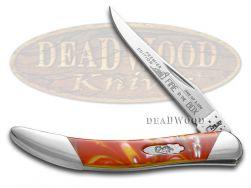 Case xx Toothpick Knife Slant Series Fire In The Box Corelon 1/2500 S910096FIB