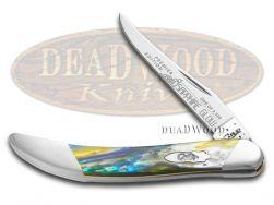 Case xx Toothpick Knife Slant Series Sapphire Glow Corelon 1/2500 S910096SG