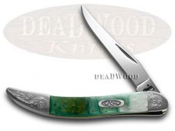 Case xx Toothpick Knife Cloud Land Corelon Engraved Bolster Stainless 910096CL/E