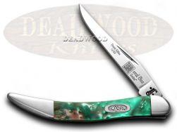 Case xx Toothpick Knife Coral Sea Genuine Corelon 1/500 Stainless 910096CS