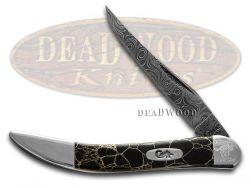 Case xx Painted Pony Damascus Black Matrix 1/200 Toothpick 910096DAM-BM Knife