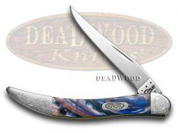 Case xx Toothpick Knife Engraved Bolster Lollypop Corelon Stainless 910096LP/E