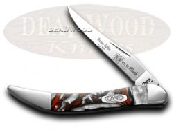 Case xx Toothpick Knife Man In Black Genuine Corelon 1/500 Stainless 910096MB