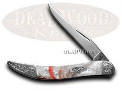 Case xx Toothpick Knife Peppermint Corelon Engraved Bolster Stainless 910096PM/E