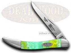 Case xx Toothpick Knife Rainbow Genuine Corelon 1/500 Stainless Pocket 910096RB
