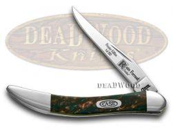 Case xx Toothpick Knife Rain Forrest Genuine Corelon 1/500 Stainless 910096RF