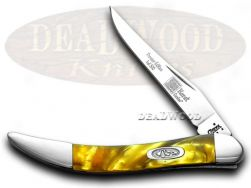 Case xx Toothpick Knife 24K Genuine Corelon 1/500 Stainless Pocket 91009624KT