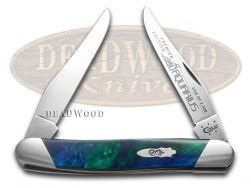Case xx Muskrat Knife Slant Series Aquarius Corelon 1/2500 Stainless S9200AQ