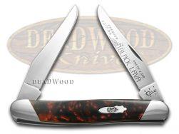 Case xx Muskrat Knife Slant Series Black Lava Corelon 1/2500 Stainless S9200BKL