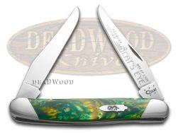 Case xx Muskrat Knife Slant Series Cat's Eye Corelon 1/2500 Stainless S9200CE