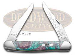 Case xx Muskrat Knife Slant Series Coral Sea Corelon 1/2500 Stainless S9200CS