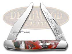 Case xx Muskrat Knife Slant Series Man In Black Corelon 1/2500 Stainless S9200MB