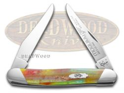 Case xx Muskrat Knife Slant Series Rainbow Corelon 1/2500 Stainless S9200RB
