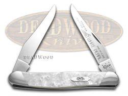 Case xx Muskrat Knife Slant Series White Pearl Corelon 1/2500 Stainless S9200WP