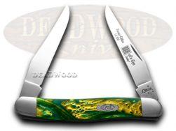 Case xx Muskrat Knife Cat's Eye Genuine Corelon 1/500 Stainless Knives 9200CE