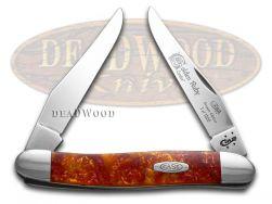 Case xx Muskrat Knife Golden Ruby Genuine Corelon 1/1200 Stainless Pocket 9200GR