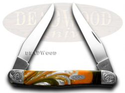 Case xx Engraved Bolster Series Genuine Oktoberfest Muskrat 9200OF/E Knife