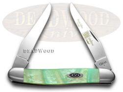 Case xx Muskrat Knife Rainbow Genuine Corelon 1/500 Stainless Pocket 9200RB