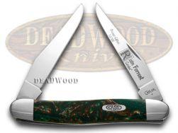 Case xx Muskrat Knife Rain Forrest Genuine Corelon 1/500 Stainless Pocket 9200RF