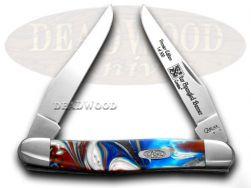 Case xx Muskrat Knife Star Spangled Banner Genuine Corelon 1/500 Pocket 9200STAR
