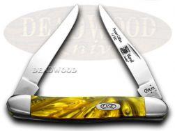 Case xx Muskrat Knife 24K Genuine Corelon 1/500 Stainless Pocket Knives 920024KT