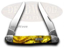 Case xx Muskrat Knife Engraved Bolster 24K Corelon Stainless Pocket 920024KT/E