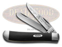 Case xx Mini Trapper Knife America's Black Coal Corelon 1/1200 Stainless 9207ABC