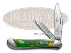 Case xx Peanut Knife Slant Series Cat's Eye Corelon 1/2500 Stainless S9220CE