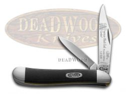 Case xx Peanut Knife America's Black Coal Corelon 1/1200 Stainless 9220ABC