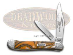 Case xx Peanut Knife Engraved Bolster Oktoberfest Corelon Stainless 9220OF/E