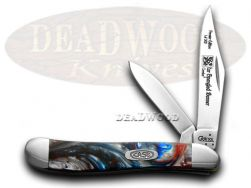 Case xx Peanut Knife Star Spangled Banner Genuine Corelon 1/500 Pocket 9220STAR