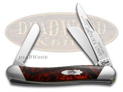 Case xx Medium Stockman Knife Slant Series Black Lava Corelon 1/2500 S9318BKL