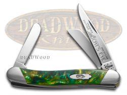 Case xx Medium Stockman Knife Slant Series Cat's Eye Corelon 1/2500 S9318CE