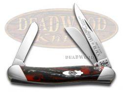 Case xx Medium Stockman Knife Slant Series Man in Black Corelon 1/2500 S9318MB