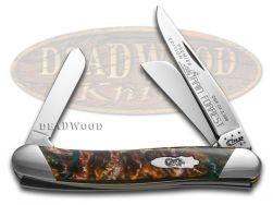 Case xx Medium Stockman Knife Slant Series Rain Forrest Corelon 1/2500 S9318RF